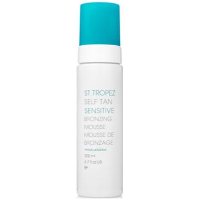 St. Tropez Self Tan Sensitive Un-Tinted Bronzing Mousse 200ml
