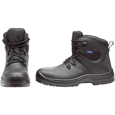 Draper Waterproof Safety Boots Black Size 9