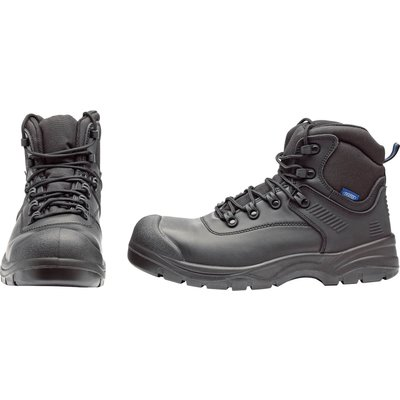 Draper Mens Non-Metallic Composite Safety Boots Black Size 7