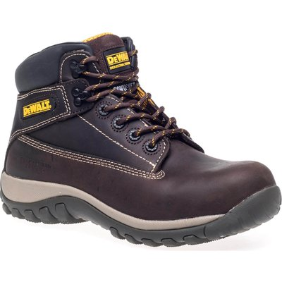 DeWalt Mens Hammer Nubuck Safety Boots Brown Size 12