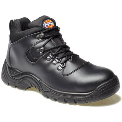 Dickies Mens Fury Safety Hiker Boots Black Size 6