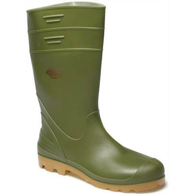 Dickies Mens Pennine Wellington Boots Green Size 5