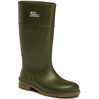 Dickies Mens Landmaster Wellington Boots Green Size 8