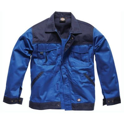 Dickies Mens Industry 300 Two Tone Jacket Royal Blue / Navy L
