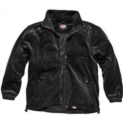 Dickies Mens Seville Fleece Jacket Black 3XL