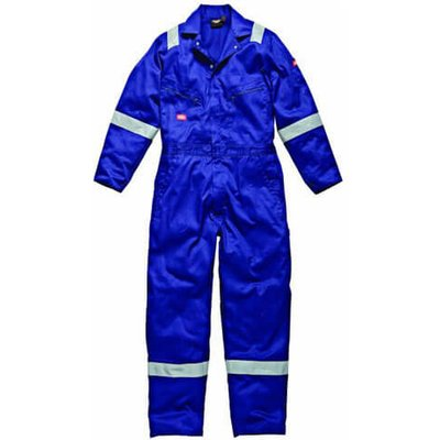 Dickies Mens Lightweight Cotton Overalls Royal Blue M