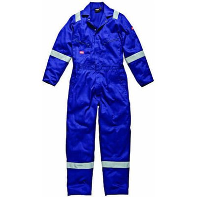 Dickies Mens Cotton Overalls Royal Blue 2XL