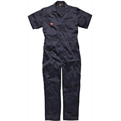 Dickies Mens Lightweight Cotton Short Sleeve Overalls Navy 3XL