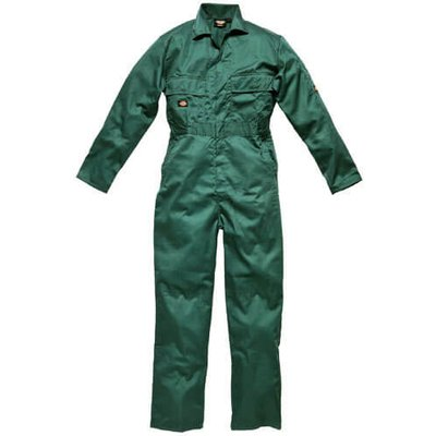 Dickies Mens Redhawk Stud Front Overalls Lincoln Green 54 30