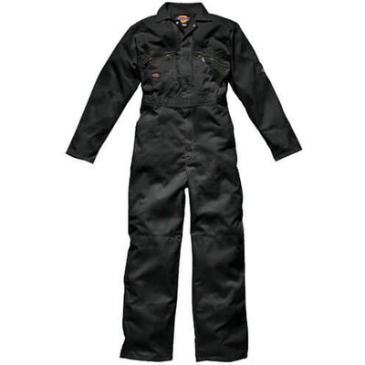 Dickies Mens Redhawk Overalls Black 40 32
