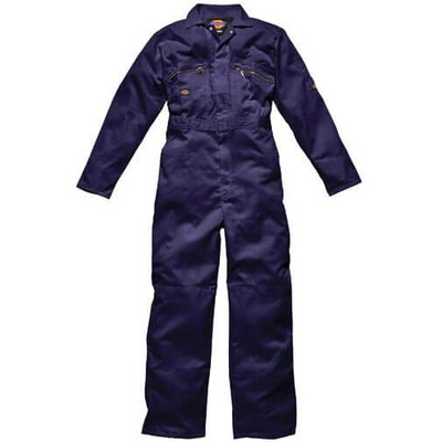 Dickies Mens Redhawk Overalls Navy Blue 56 30