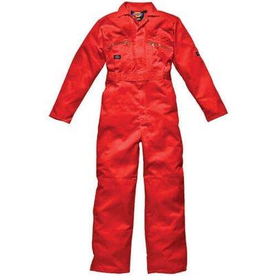 Dickies Mens Redhawk Overalls Orange 36 32