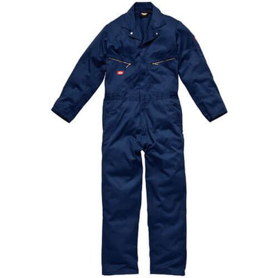 Dickies Mens Deluxe Overalls Navy Blue 2XL 30