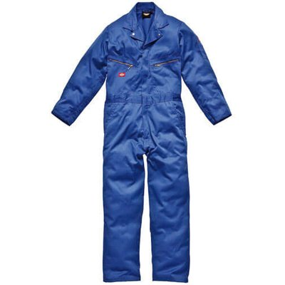 Dickies Mens Deluxe Overalls Royal Blue M 30