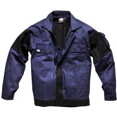 Dickies Mens Grafter Duo Tone Jacket Navy / Black S