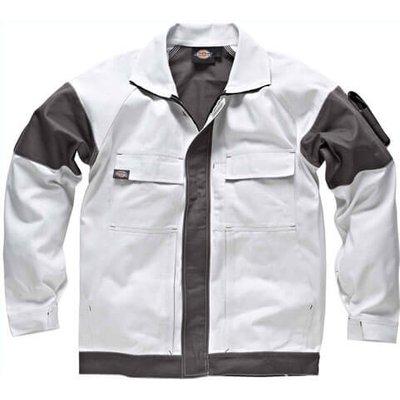 Dickies Mens Grafter Duo Tone Jacket White / Grey XL