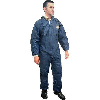 Scan Disposable Overalls Navy 2XL