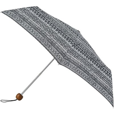 totes Supermini Tribal Triangles Print Umbrella (3 Section)