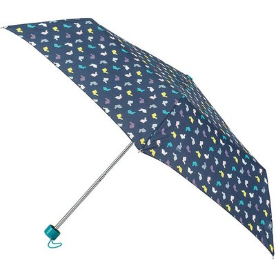 totes Supermini Multi Rabbits Print Umbrella (3 Section)