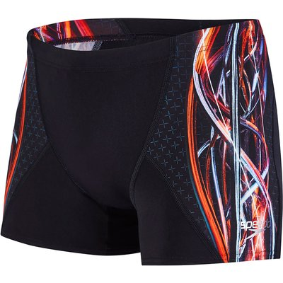 Speedo Placement Digital V Aquashort   Adult Swimwear