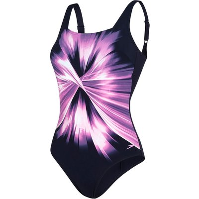 Speedo Women's AuraGleam Sculpture Swimsuit   Adult Swimwear