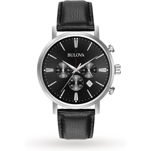 9. Mens Bulova Aerojet Chronograph Watch 96B262: £129, Goldsmiths
