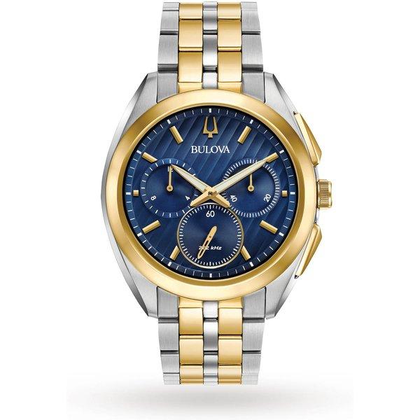 8. Bulova Men's Progressive Dress CURV Chronograph Watch: £599, Goldsmiths