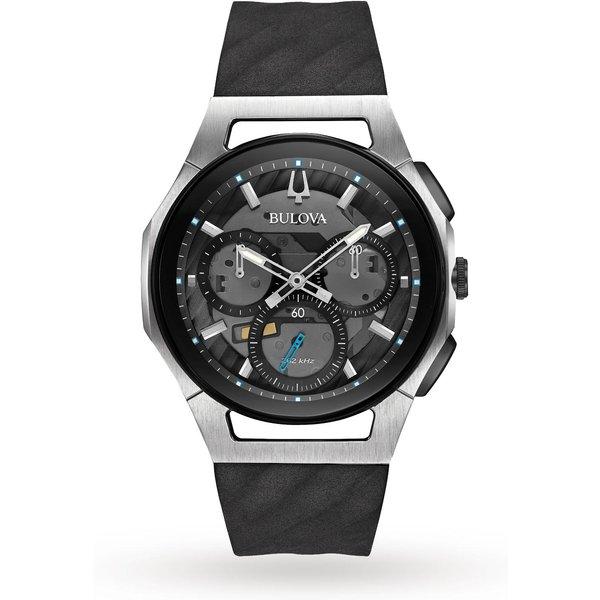 5. Bulova Men's Progressive CURV Titanium Chronograph Watch: £649, Goldsmiths