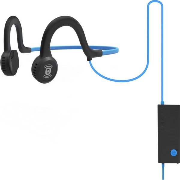 48. AFTERSHOKZ Sportz Titanium Noise-Cancelling Headphones - Blue, Titanium, 10160402: £49.95, Currys