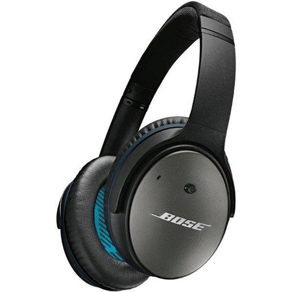 41. BOSE  QuietComfort 25 Noise-cancelling Headphones - Black, Black: £299.99, Currys