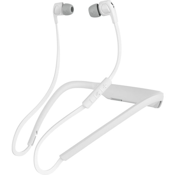 100. SKULLCANDY Smokin Bud 2 Wireless Bluetooth Headphones - White & Chrome, White, 10144853: £33.24, Currys