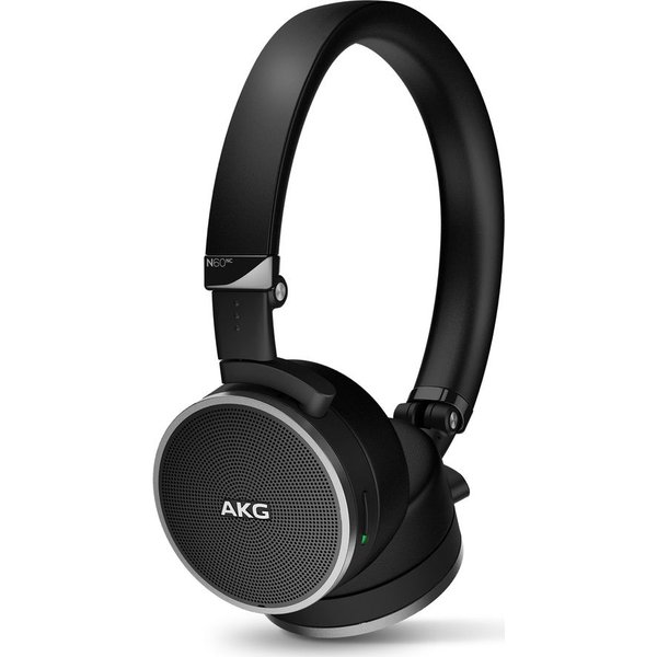 43. AKG N60NC Noise-Cancelling Headphones - Black, Black: £199.99, Currys