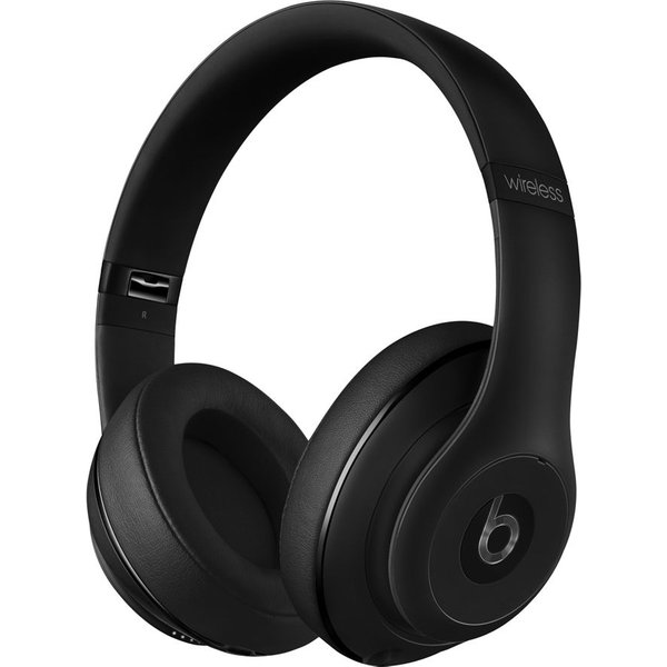 61. BEATS  Studio Wireless Bluetooth Noise-Cancelling Headphones - Matte Black, Black: £299, Currys