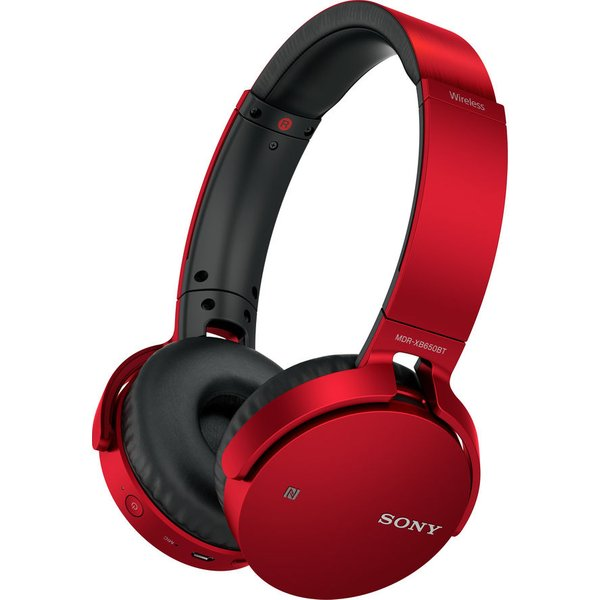 98. SONY  MDR-XB650BTR EXTRA BASS Wireless Bluetooth Headphones - Red, Red: £84.99, Currys