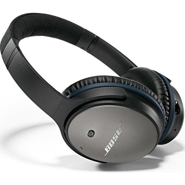 38. BOSE  QuietComfort 25 Noise-Cancelling Headphones – Black, Black: £299.99, Currys