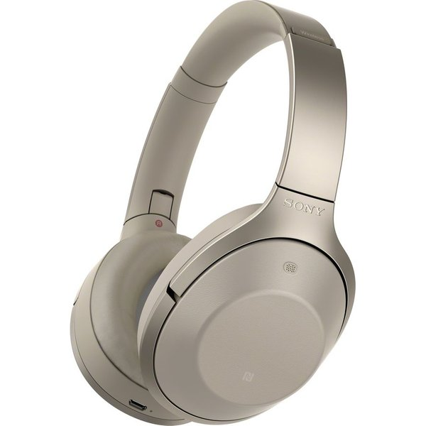 90. SONY  MDR-1000X Wireless Bluetooth Noise-Cancelling Headphones - Grey Beige, Grey, MDR1000X: £299, Currys