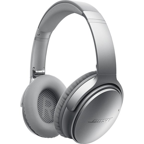 39. BOSE  QuietComfort 35 Wireless Bluetooth Noise-Cancelling Headphones - Silver, Silver, 10145625: £329.95, Currys
