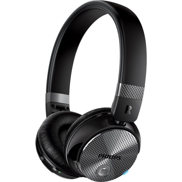 31. PHILIPS  SHB8850NC Wireless Bluetooth Noise-Cancelling Headphones - Black, Black: £89.99, Currys
