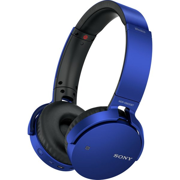84. SONY  MDR-XB650BTL Wireless Bluetooth Headphones - Blue, Blue, MDRXB650BTL: £79, Currys