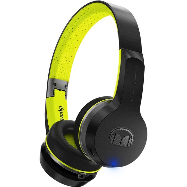 45. MONSTER  Isport Freedom Wireless Headphones - Black & Green, Black: £179.99, Currys