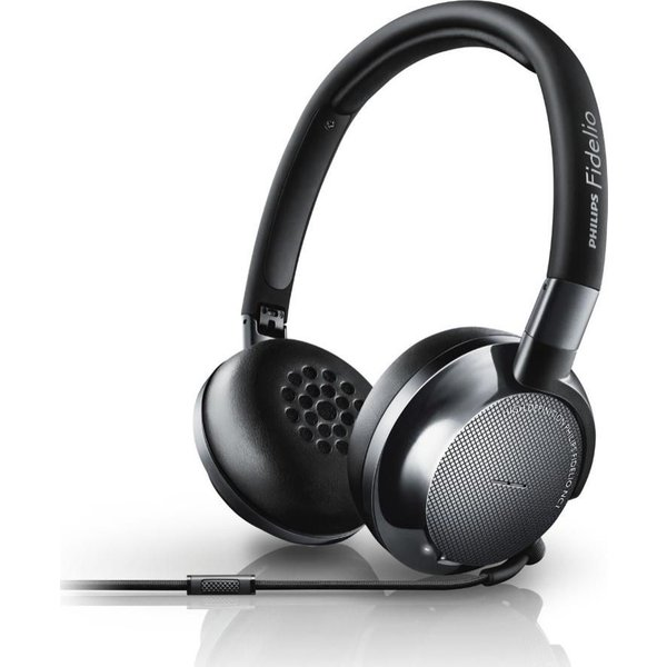 30. PHILIPS  Fidelo NC1/00 Noise-Cancelling Headphones - Black, Black: £195, Currys