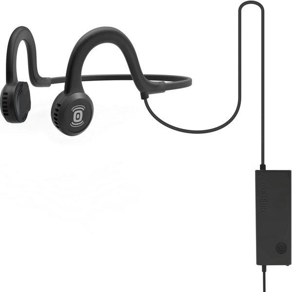 49. AFTERSHOKZ Sportz Titanium Noise-Cancelling Headphones - Black & Grey, Titanium: £49.95, Currys