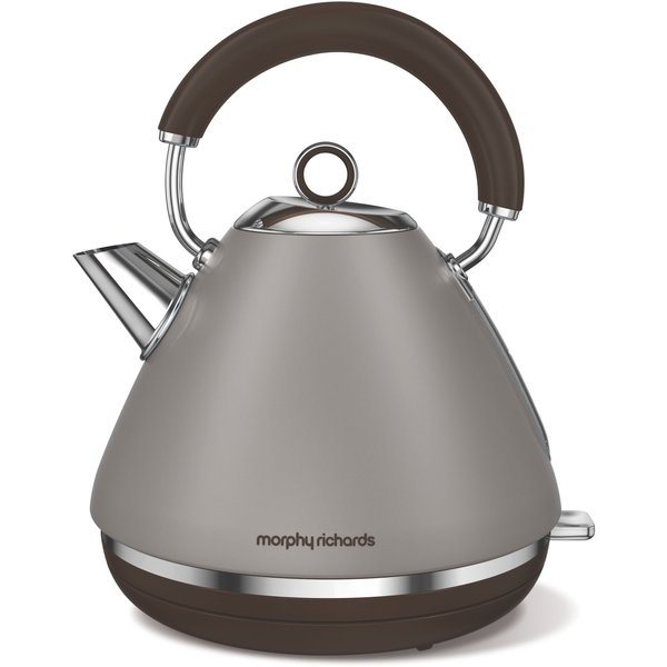 7. Morphy Richards Accents Special Edition Pyramid Kettle, Pebble: £64.99, House of Fraser
