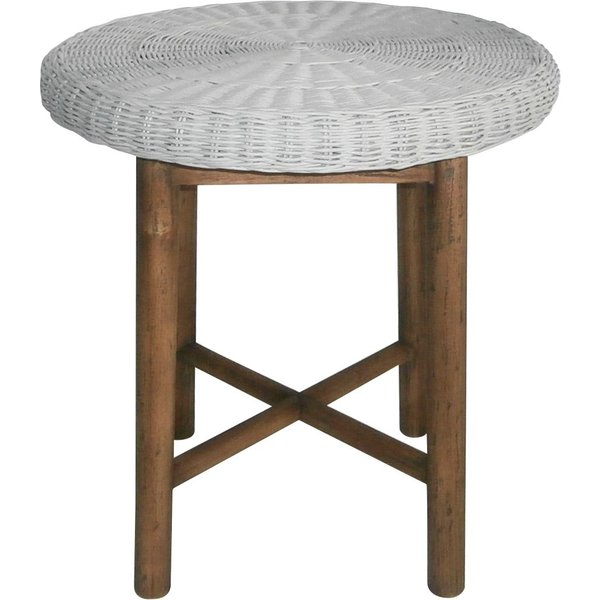 18. Junipa Palm side table, Grey: £175, House of Fraser