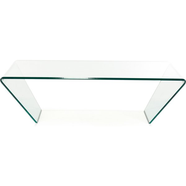 53. Linea Curvo Coffee Table, Clear: £329, House of Fraser