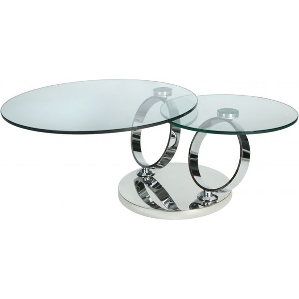 51. Linea Motion Coffee Table, Clear: £549, House of Fraser
