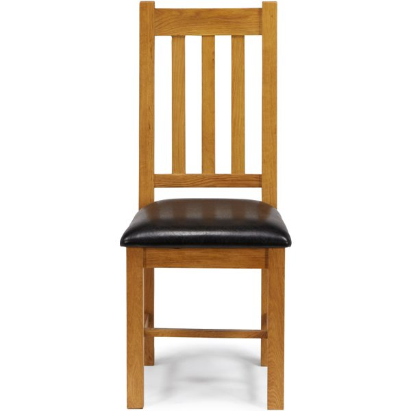62. Linea Astoria Dining Chair, White: £149, House of Fraser