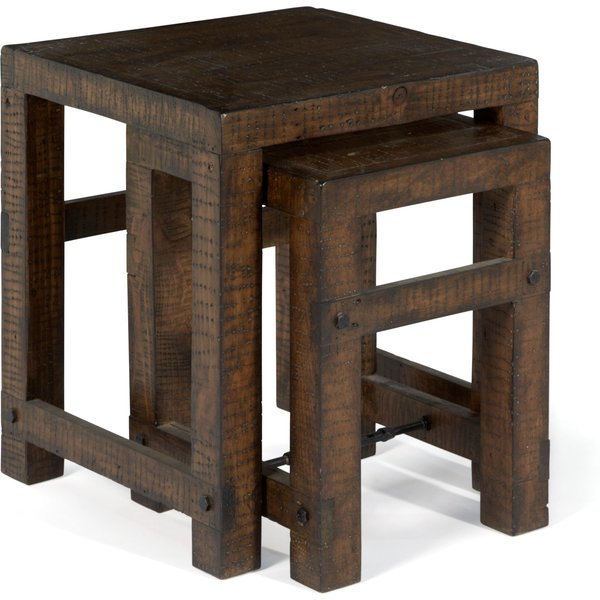 2. Linea Clifton Nest of Tables, Brown: £259, House of Fraser
