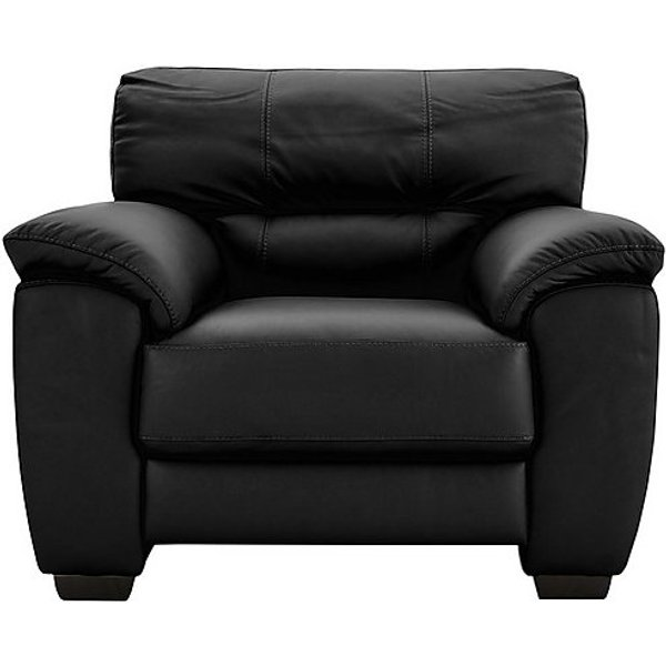 5. Shades Leather Armchair, Black: £795, Furniture Village