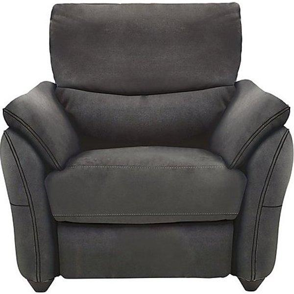 10. Salamander Fabric Recliner Armchair, Grey: £795, Furniture Village